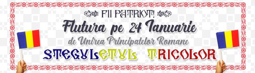 24 ianuarie stegulete unirea principatelor unite